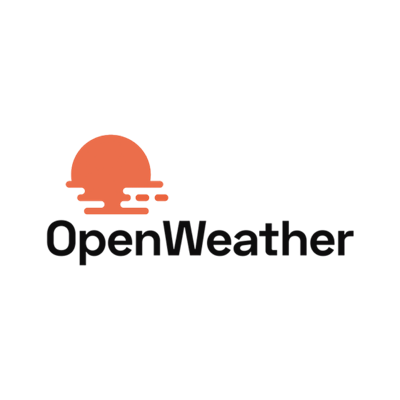 Get the local weather from any location in the world using OpenWeather.